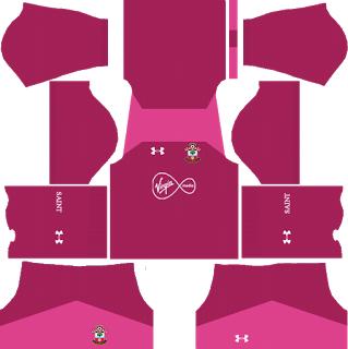 Southampton F.C. Goalkeeper Away Kit