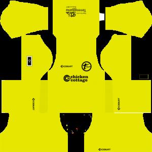 T-Team Goalkeeper Away Kit