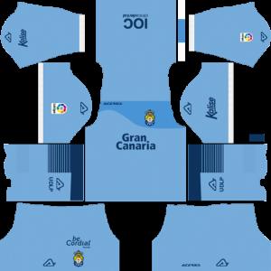 UD Las Palmas Goalkeeper Away Kit