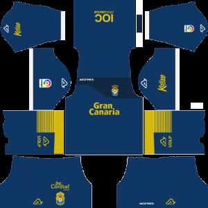 UD Las Palmas Goalkeeper Home Kit