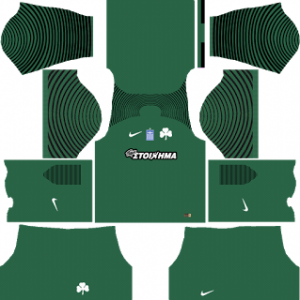 panathinaikos fc goalkeeper away kit