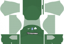 panathinaikos fc home kit