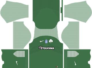 panathinaikos fc home kit