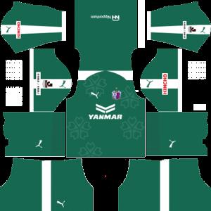 Cerezo Osaka Goalkeeper Away Kit