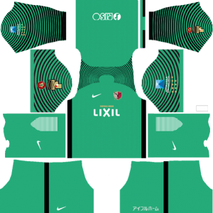 Kashima Antlers Goalkeeper Away Kit