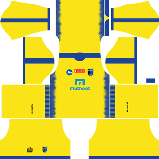 Kerala Blasters Fc Kits And Logo Dream League Soccer