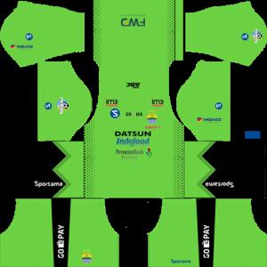 Persib Bandung GoalKeeper Away Kit