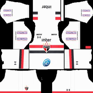 Sao Paulo FC Home Kit