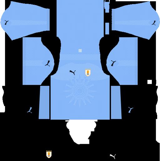 Uruguay World Cup Adidas Kits & Logo URL - Dream League Soccer