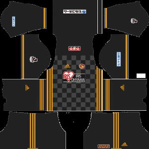 Vegalta Sendai Goalkeeper Away Kit
