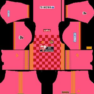 Vegalta Sendai Goalkeeper Home Kit
